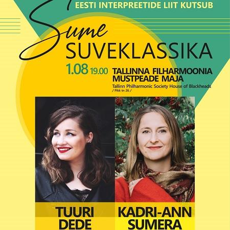 Sume suveklassika:  Tuuri Dede (metsosopran) ja Kadri-Ann Sumera (klaver)
