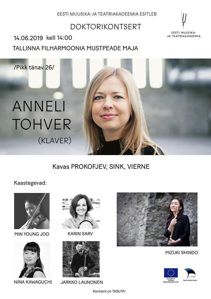 Eesti Muusika- ja Teatriakadeemia esitleb - DOKTORIKONTSERT