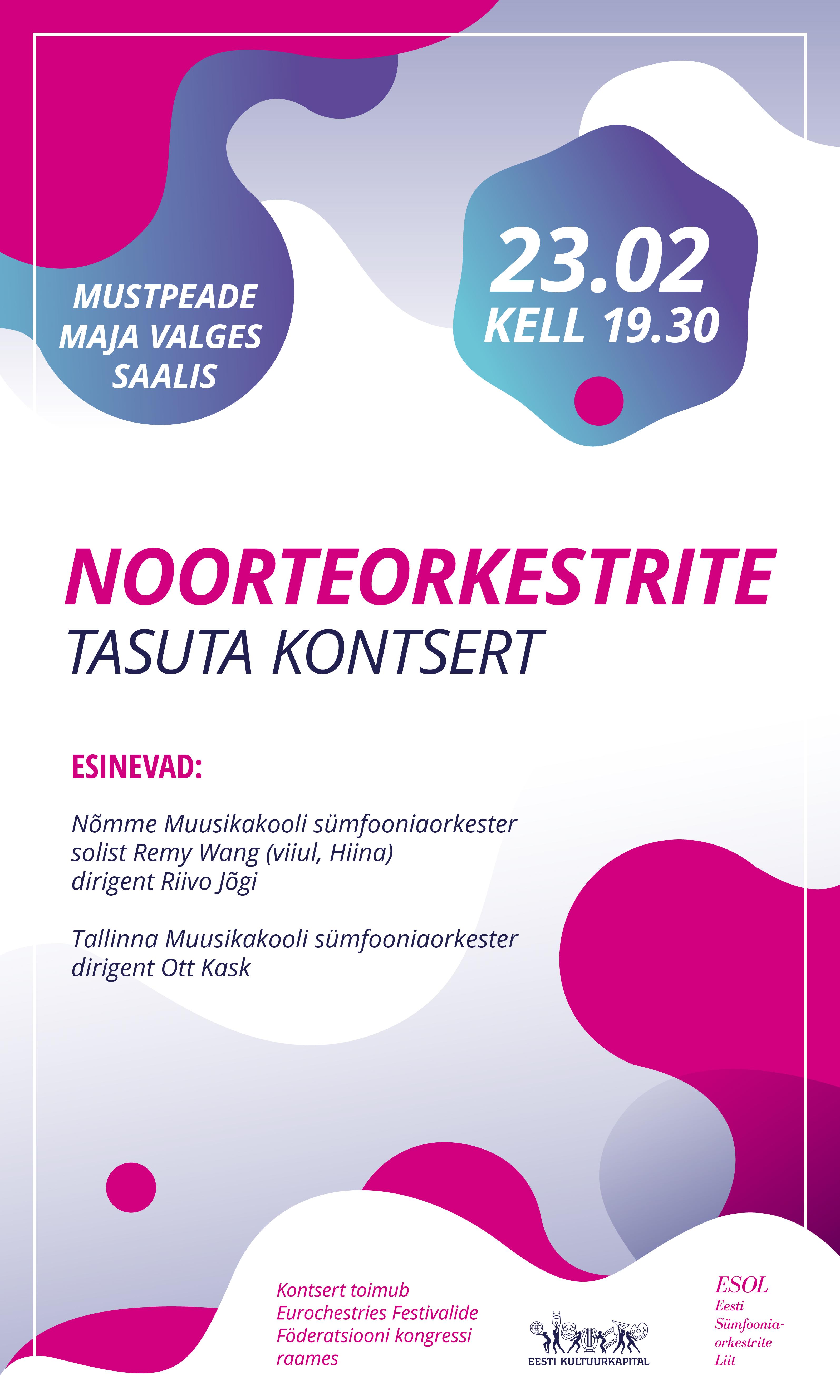 NOORTEORKESTRITE TASUTA KONTSERT