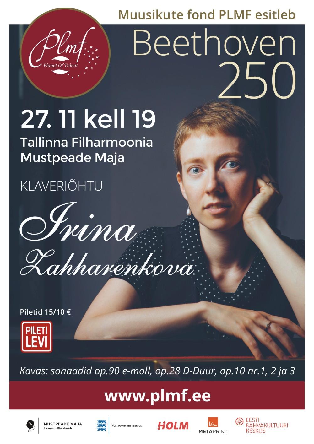 BEETHOVEN 250. Irina Zahharenkova