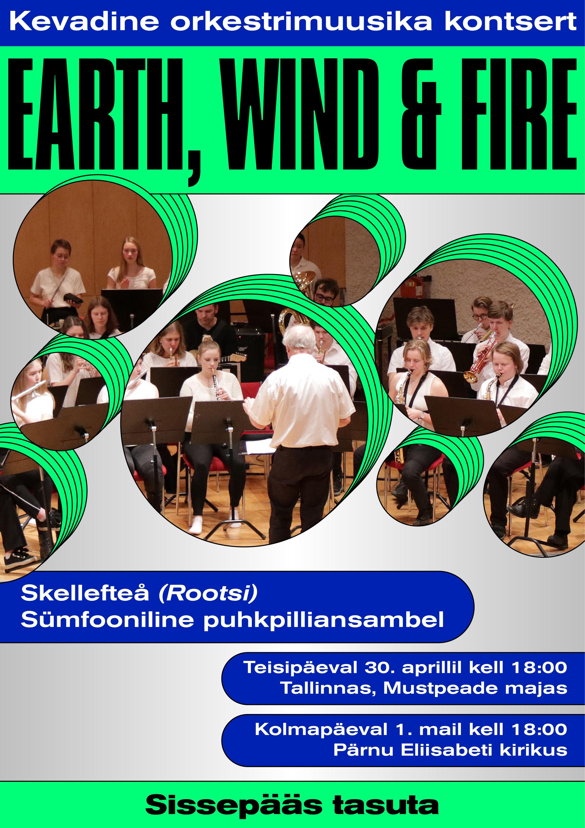 Kevadine orkestrimuusika kontsert