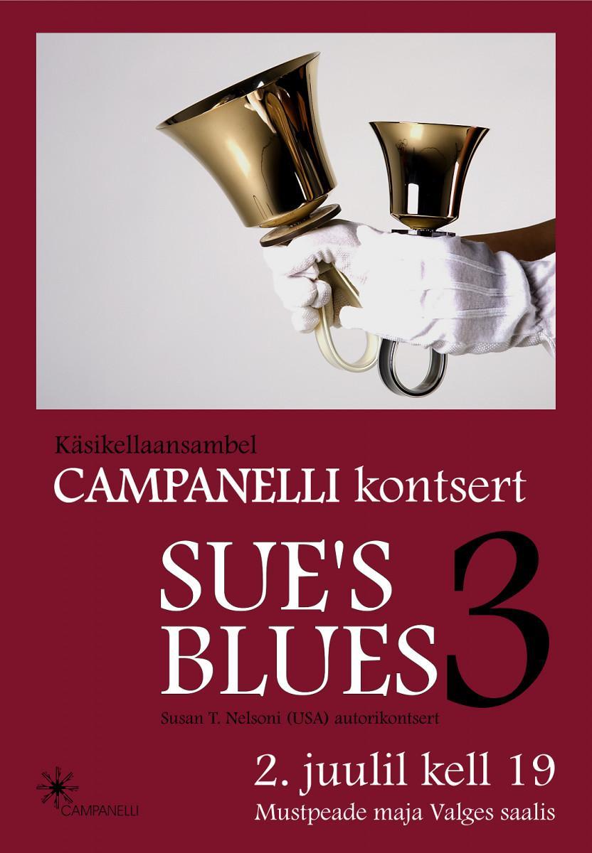"Käsikellade ansamblite kontsert ""Sue's Blues 3"""