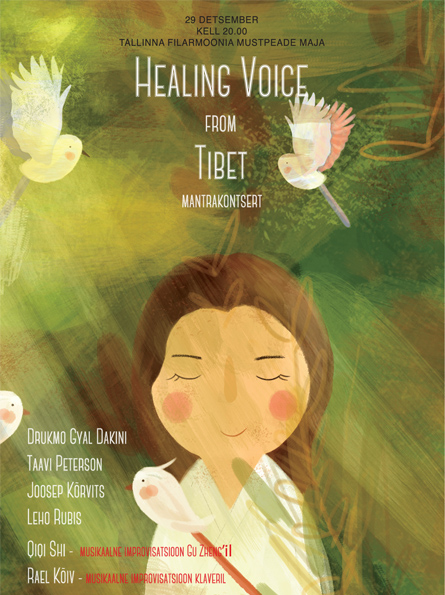 Drukmo Gyal Dakini mantrakontsert ''Healing voice from Tibet''