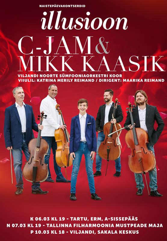 C-Jam ja Mikk Kaasik & Viljandi Noorte Sümfooniaorkestri koor -