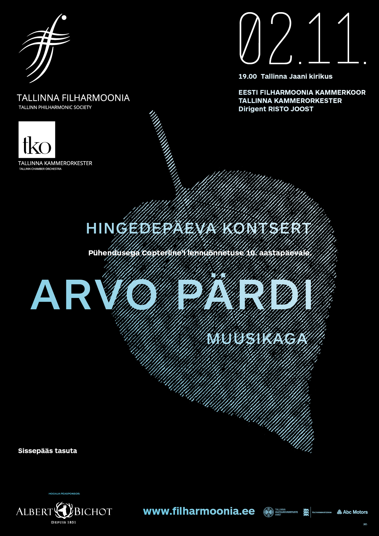 ALL SOULS' DAY CONCERT WITH ARVO PÄRT'S MUSIC