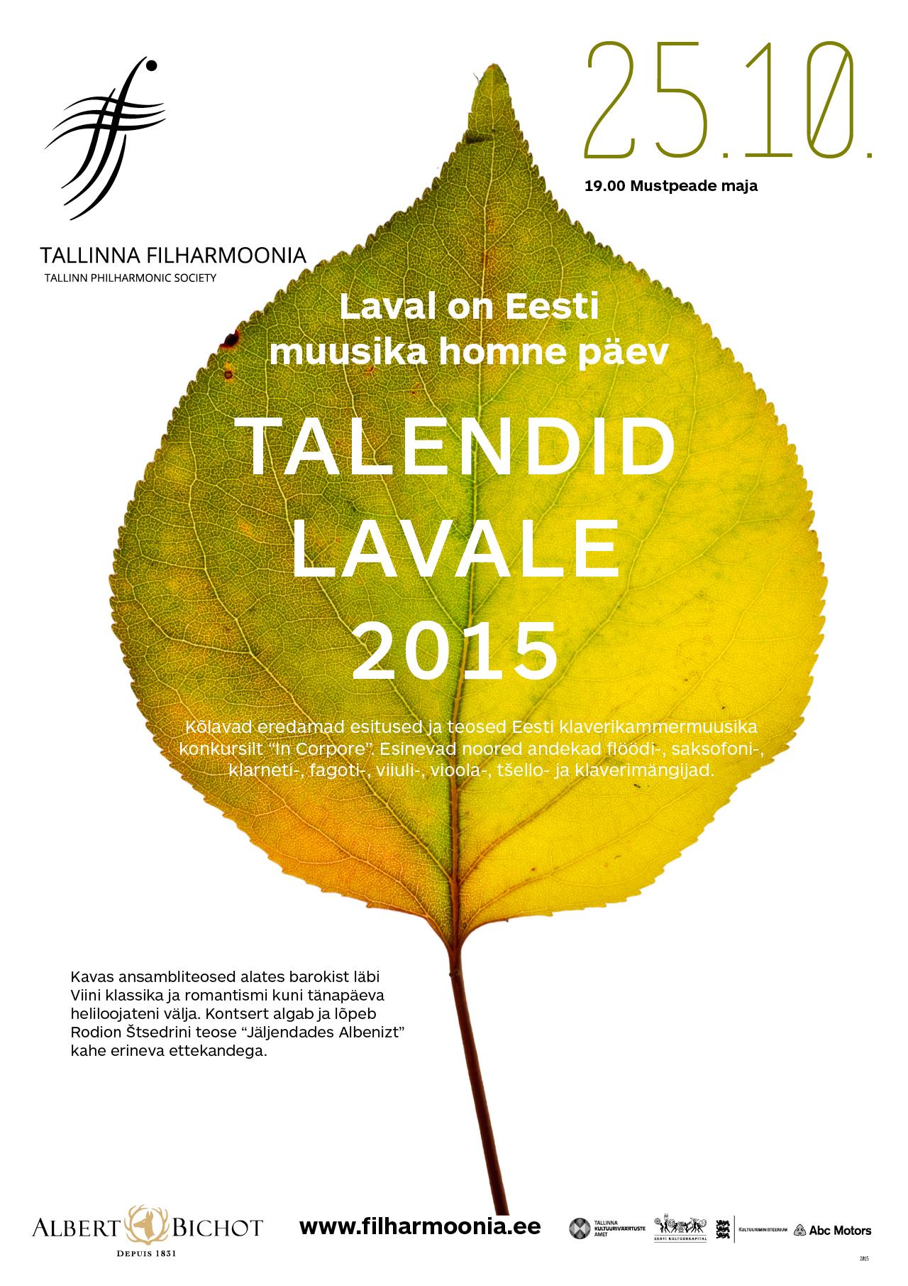 TALENDID LAVALE 2015