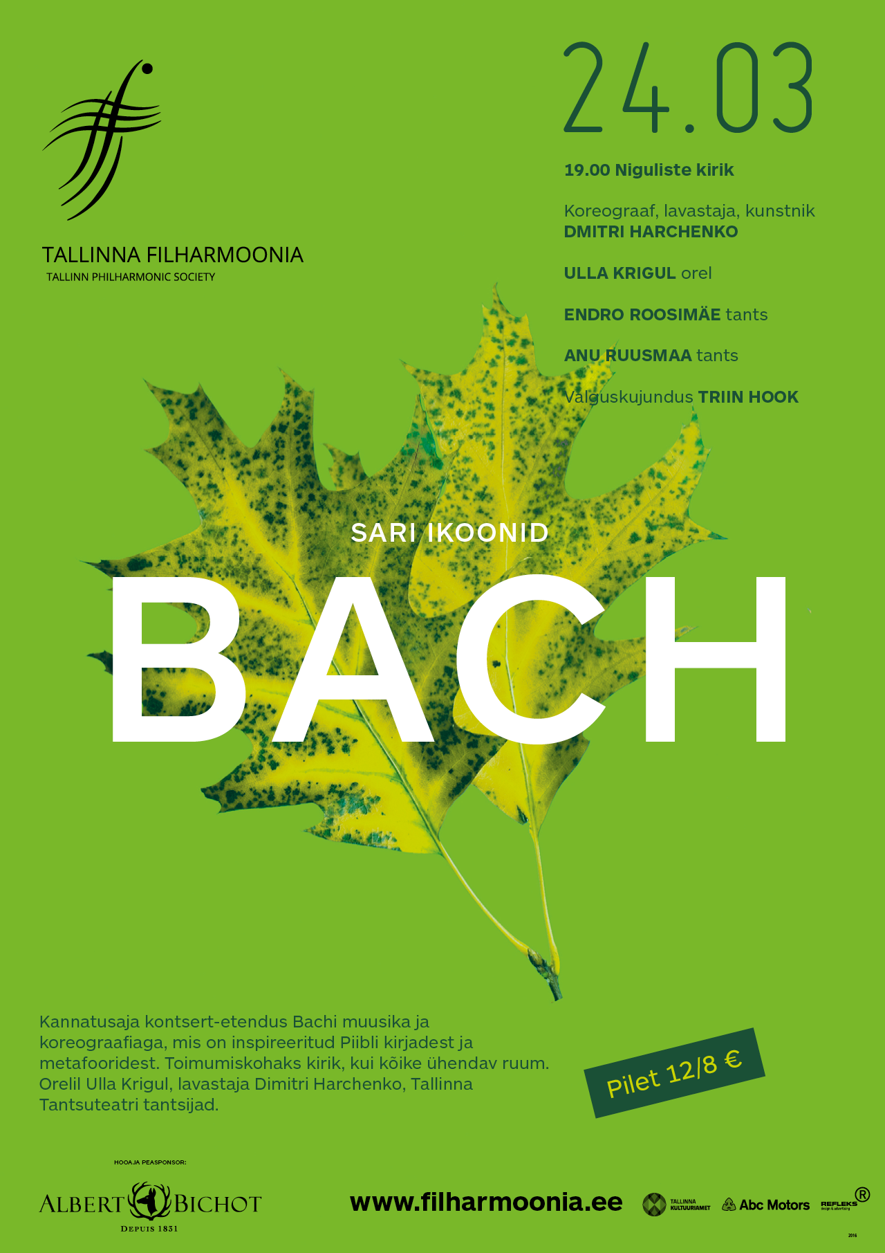 Series ICONS. BACH
