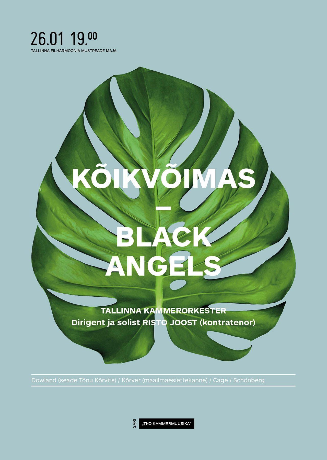TCO CHAMBER MUSIC. OMNIPOTENT – BLACK ANGELS