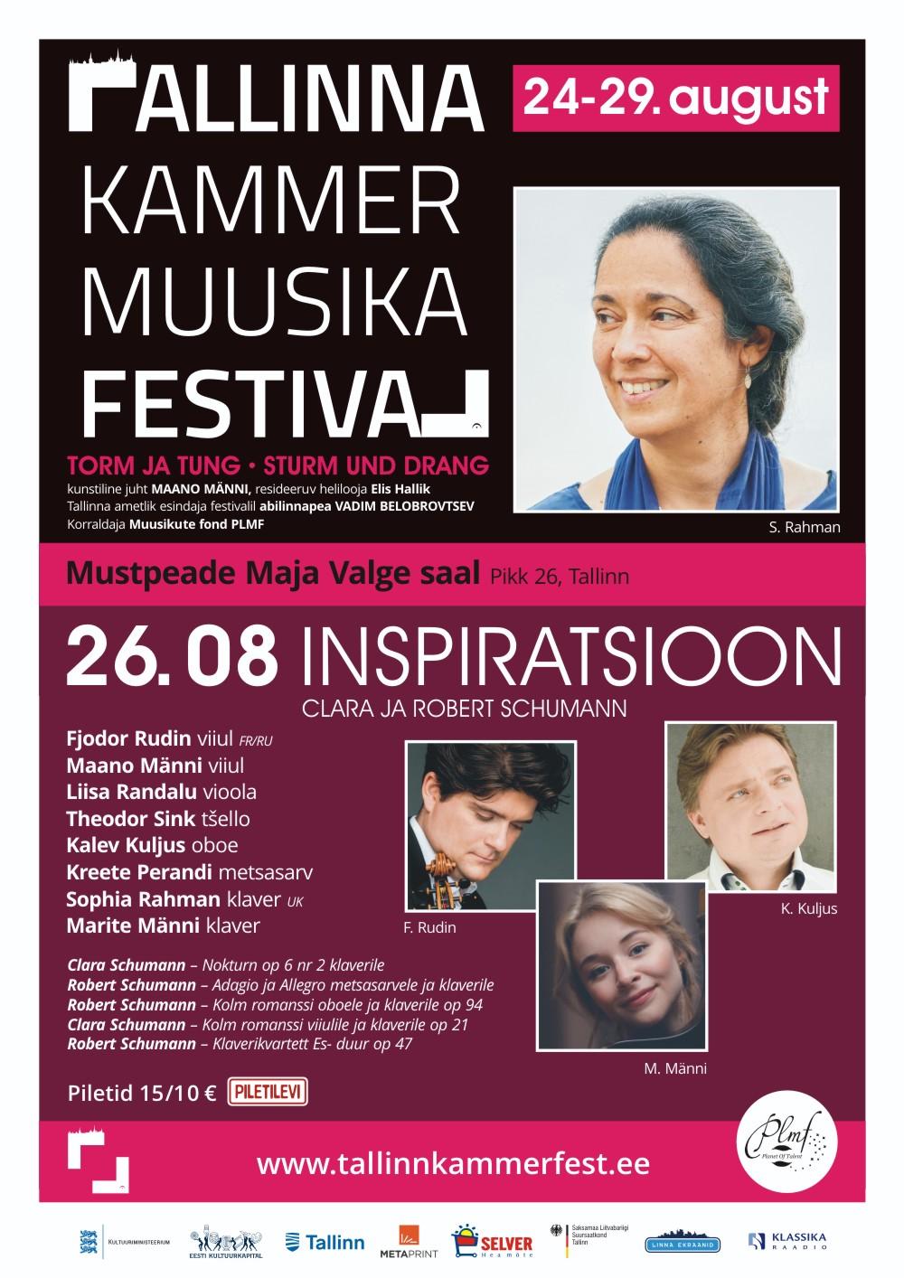 Inspiratsioon. Sophia Rahman & Fjodor Rudin / Tallinna Kammermuusika Festival