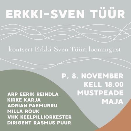 Kontsert Erkki-Sven Tüüri loomingust