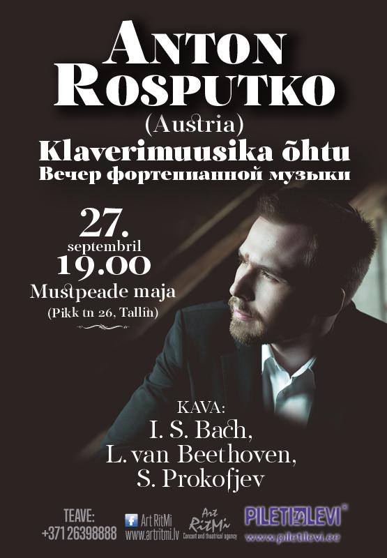 Anton Rosputko (Austria). Klaverimuusika õhtu