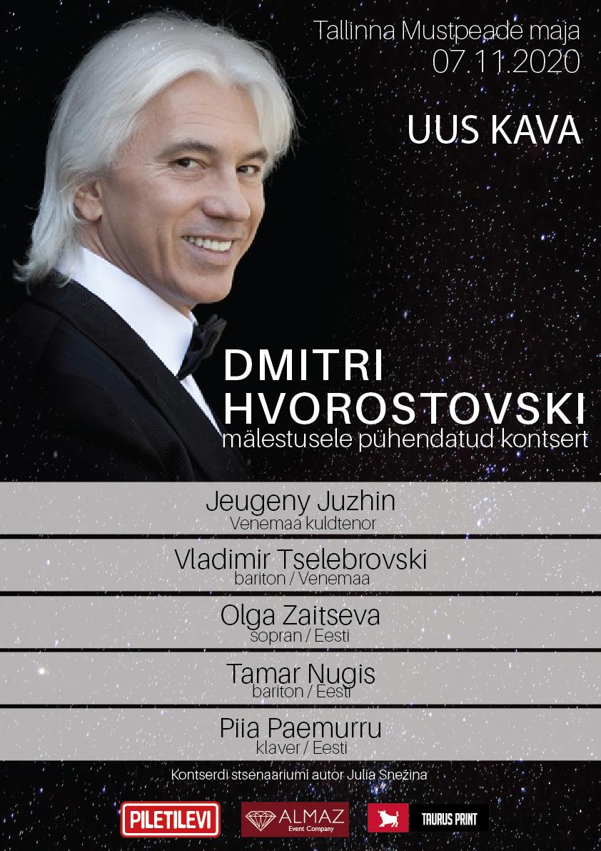 Dmitri Hvorostovski mälestuskontsert