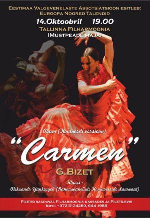 ''Carmen'' Euroopa Noored Talendid