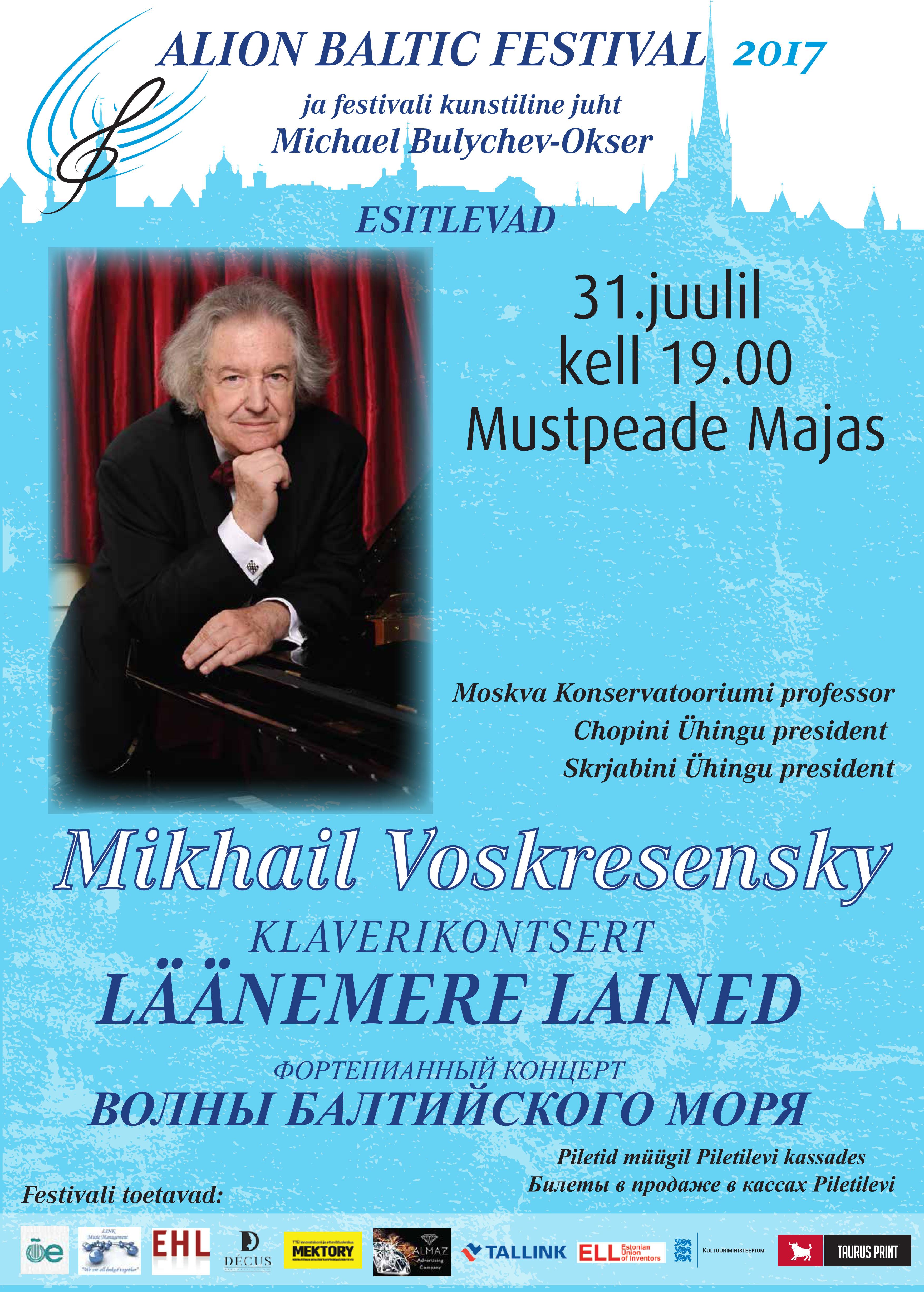 Mikhail Voskresensky - KLAVERIKONTSERT