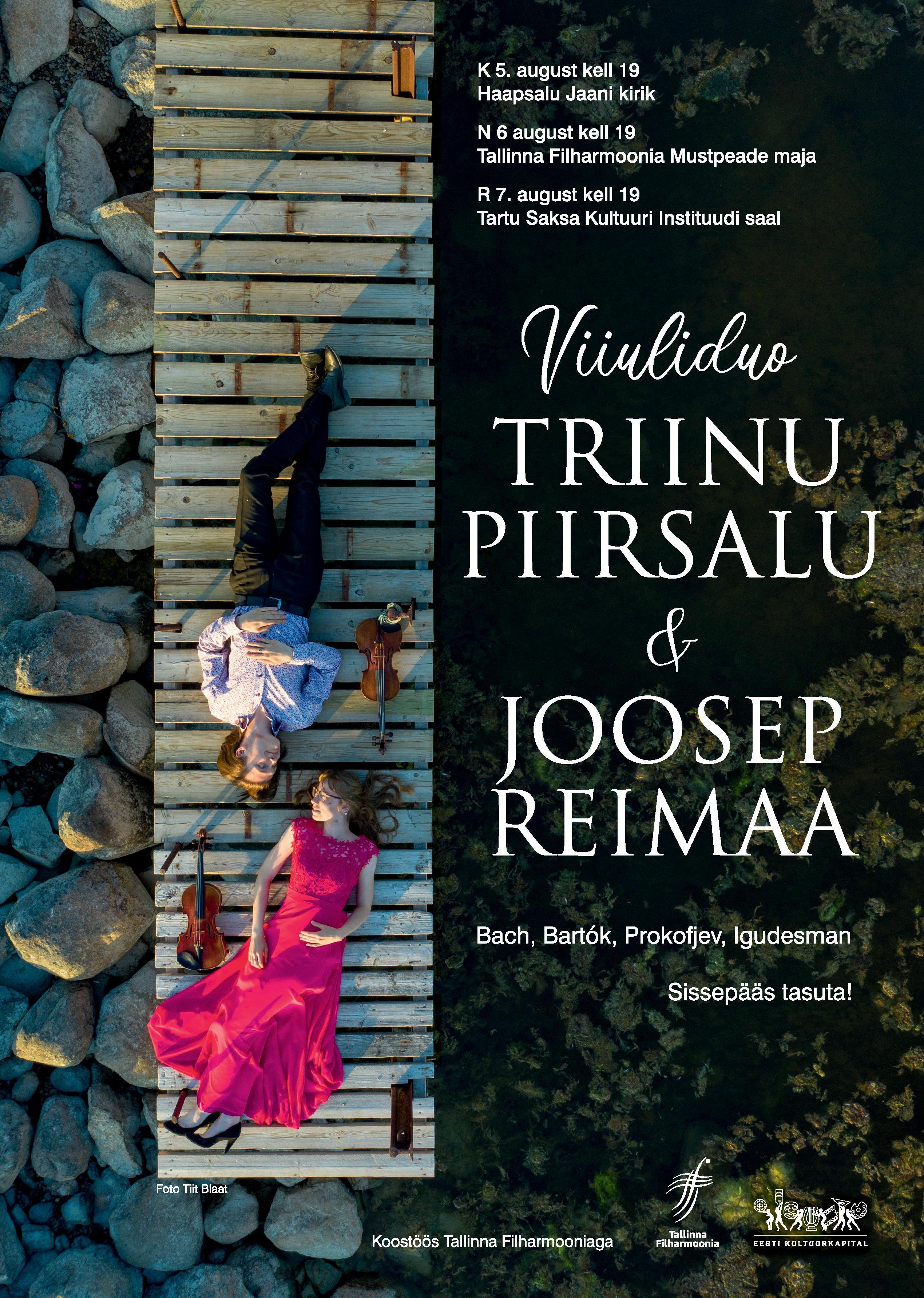Viiuliduo Triinu Piirsalu & Joosep Reimaa