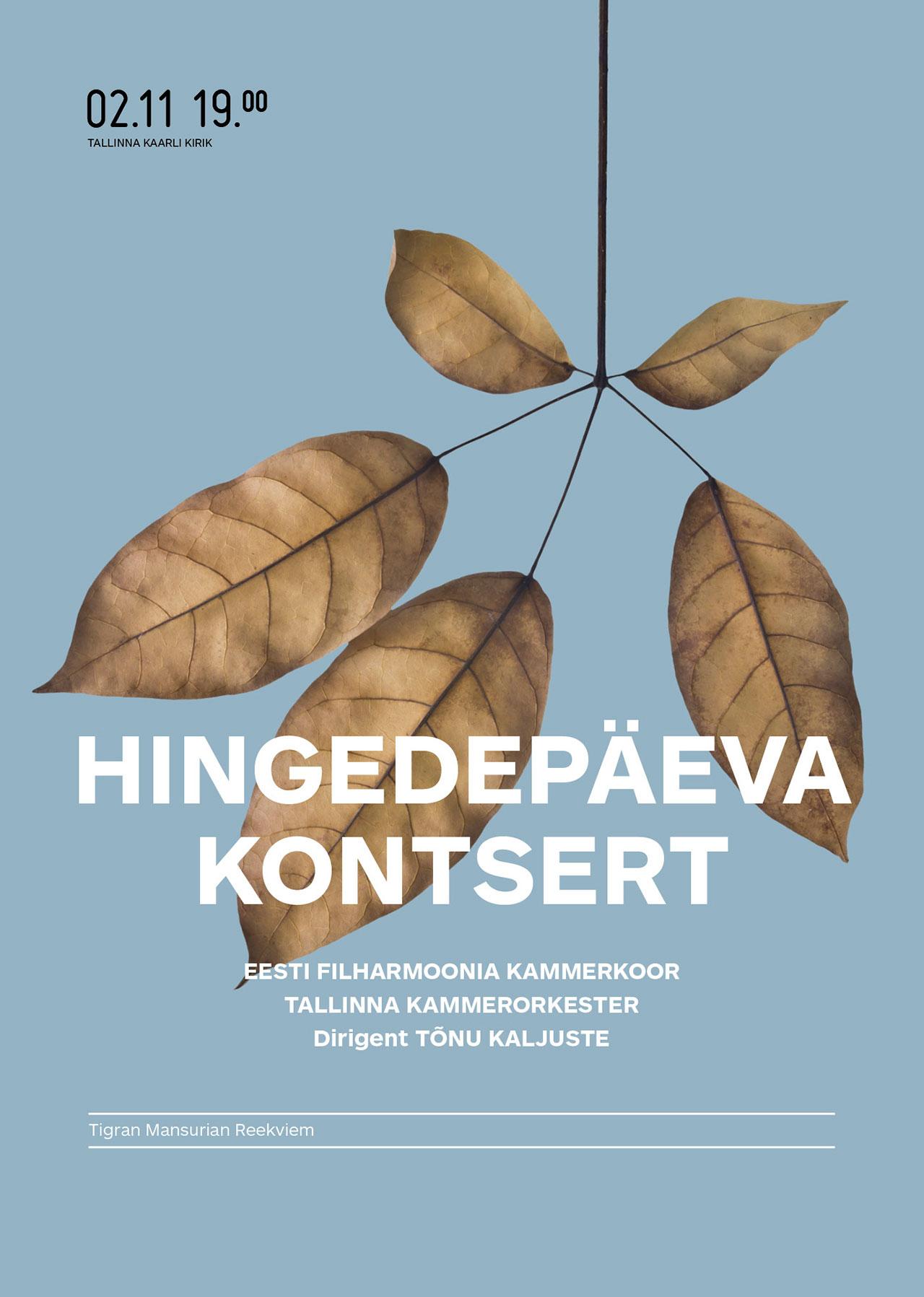 HINGEDEPÄEVA KONTSERT