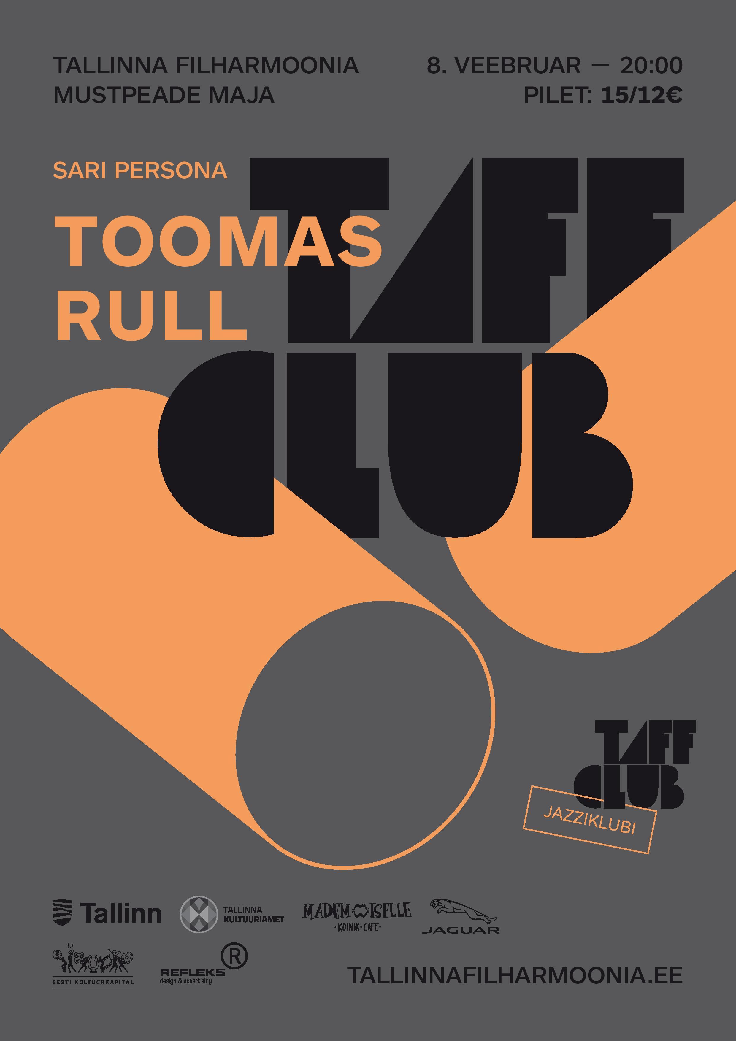 TAFF CLUB. Persona: TOOMAS RULL