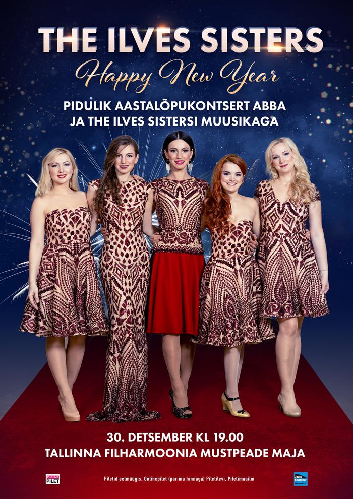 """The Ilves Sisters – Pidulik aastalõpukontsert """"Happy New Year"""""""