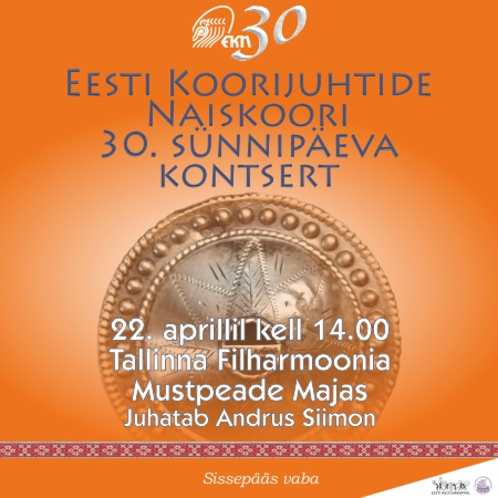 Eesti Koorijuhtide Naiskoori 30. sünnipäeva kontsert