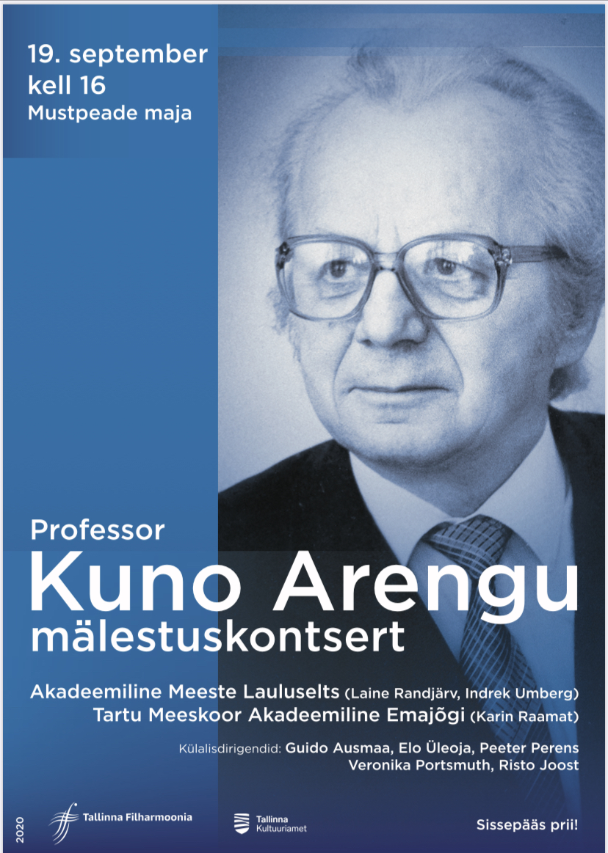 Professor KUNO ARENGU mälestuskontsert