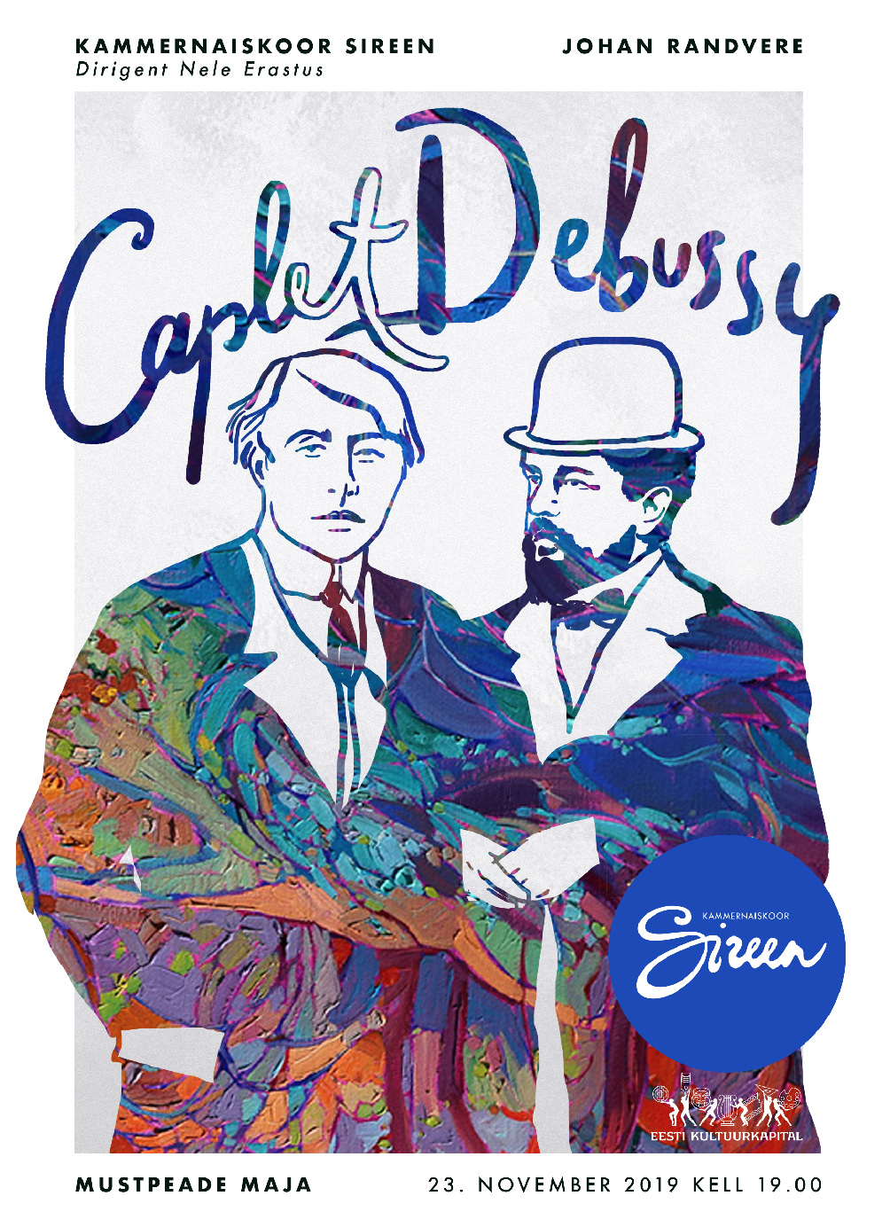 Caplet. Debussy - Kammernaiskoor Sireen ja Johan Randvere