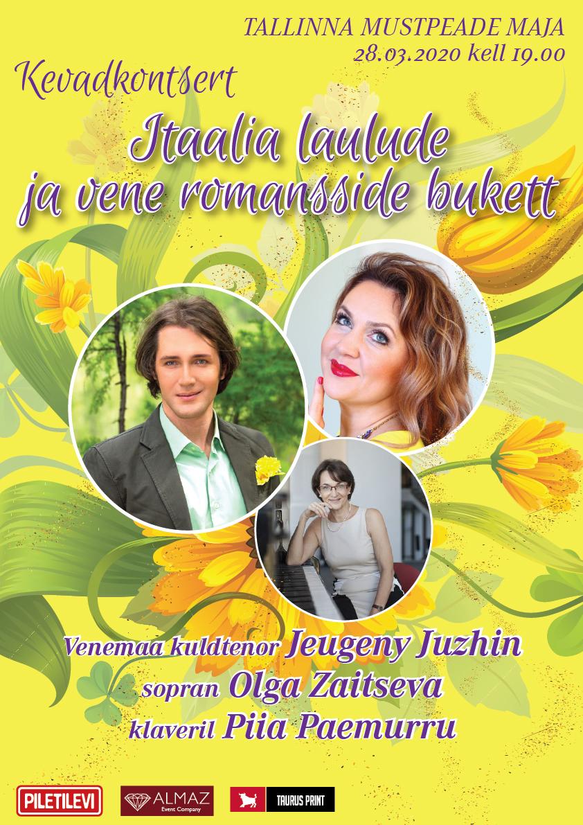 Itaalia laulude ja vene romansside bukett