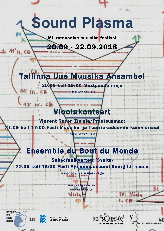 Sound Plasma. Tallinna Uue Muusika Ansambel